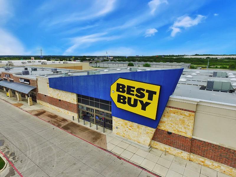 Best Buy Aerial Photo
