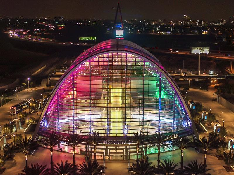 Anaheim Transportation Aerial Photo