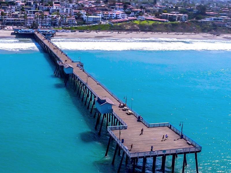Pier Aerial Photo