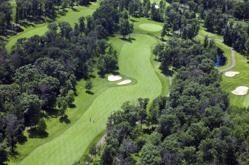 Golf Course Aerial Photo 1